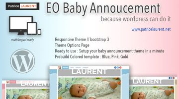 Portfolio Eo Baby Announcement